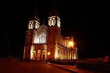 Basilica de Covadonga de noche3.jpg