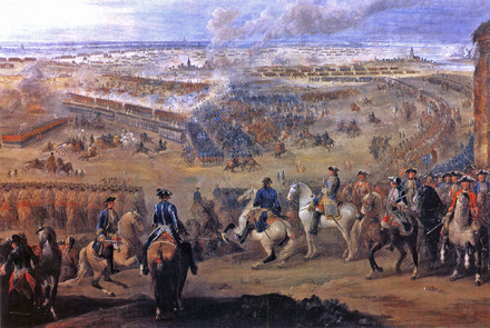 The Battle of Fontenoy, 11 May 1745 Battle of Fontenoy 1745 1.PNG