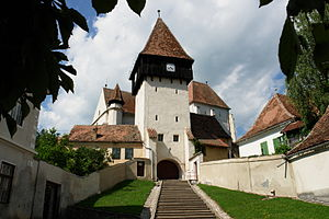 Bazna - Fortified church of Bazna