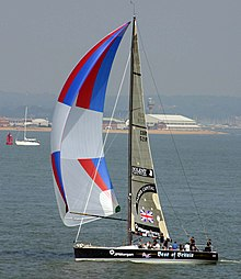 Symmetric spinnaker / for racing sailboats / polyester - S2 ...