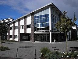 Townhall (2004) of Bedburg-Hau in Schneppenbaum