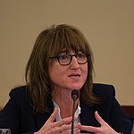 Beeban Kidron Broadband Commission for Sustainable Development Meeting, Dubai, 13 March 2016 (cropped).jpg