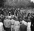 Begrafenis van Wagenaar Marine op de Oosterbegraafplaats Amsterdam, met mili, Bestanddeelnr 904-7140.jpg