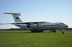 Belarusian Il-76 Candid at Radom AS 2009.JPG