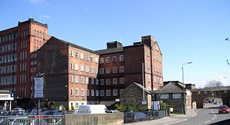 Belper - Strutt's North Mill built in 1803, to replace the original one destroyed by fire