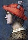 Bemberg Fondation Toulouse - Courtisan au chapeau de fourrure rouge - Francesco d'Ubertino inv.1054.jpg