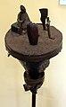 Benin, fon, abomey, altarino di metallo, 06.JPG