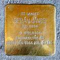 Berán János stolperstein (Budapest-13 Victor Hugo u 29).jpg
