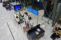 Bergen Airport Flesland, Norway 2019-11-21 Passengers waiting Gate B16 B17 Widerøe Counter Screens Seating (utgang, avgangshall) etcDSC01019.jpg
