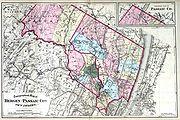 Bergen and Passaic counties, 1872