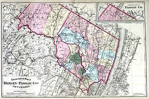 Boroughitis - Bergen County (and neighboring Passaic County) in 1872