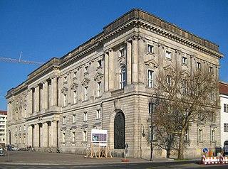 Neuer Marstall historic building in Berlin, Germany