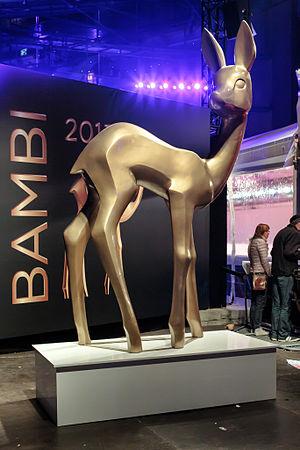 Bambi Award - Statue of Bambi in Berlin, 2013