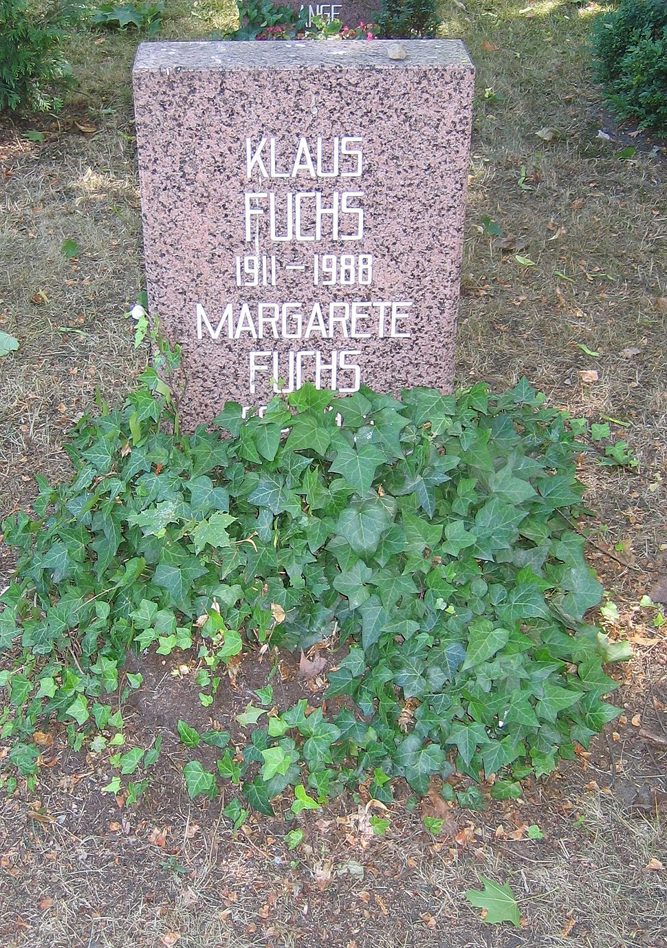 Berlin Friedrichsfelde Zentralfriedhof, Pergolenweg - Fuchs