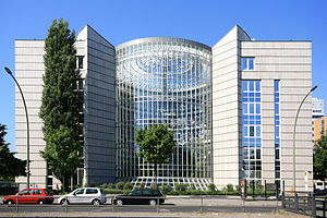 English: Berlin, office building of Schering c...