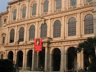Alexander Comstock Kirk - Façade of Palazzo Barberini
