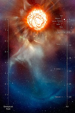 meaning of betelgeuse