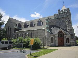 Bethesda Episcopal Church (Saratoga Springs) - Bethesda Episcopal Church in 2013