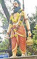 Bhageeratha statue at film nagar, hyderabad (cropped).jpg