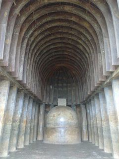 Chaitya prayer hall from Buddhist tradition