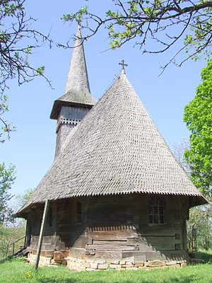 Bicaz, Maramureș - Wooden Church in Bicaz