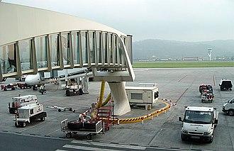 Bilbao Airport - Bilbao Airport finger