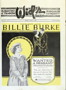Billie Burke in Wanted a Husband by Lawrence Windom Film Daily 1920.png