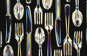 Cutlery - Starch-polyester disposable cutlery