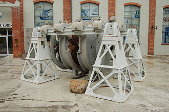 Sam Eyde - Image: Birkeland–Eyde furnace 1905