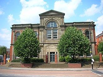 Birmingham Accident Hospital - Birmingham Accident Hospital – adjacent (west) building
