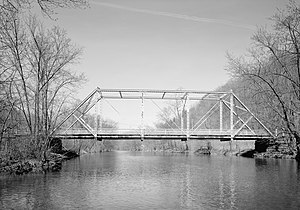 Warriors Mark Township, Huntingdon County, Pennsylvania - Birmingham Bridge over the Juniata River