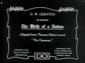 Archivo:Birth of a Nation (1915).webm