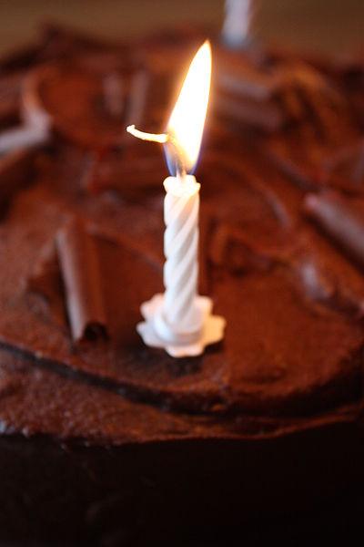 File:Birthday candle, Downpatrick, July 2010.JPG