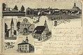 Bischofstein, Thüringen - Griffstein; Ev. Kirche; Heilsberger Tor (Zeno Ansichtskarten).jpg
