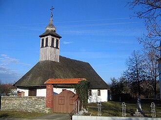 Curtea - Wooden Orthodox church (1794)