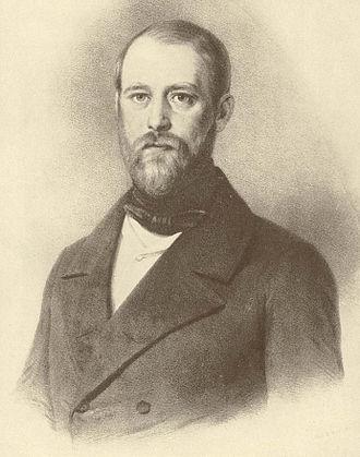 Otto von Bismarck - Bismarck at age 32, 1847