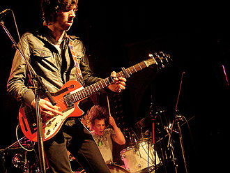 The Black Box Revelation - BBR in 2008 as support act for dEUS
