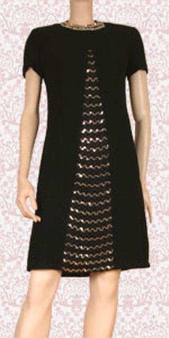 Hemline - Image: Black cocktail dress 1435042634