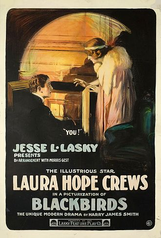 Laura Hope Crews - Blackbirds, a 1915 silent film produced by Jesse Lasky.