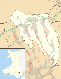 Blaenau Gwent UK location map.svg