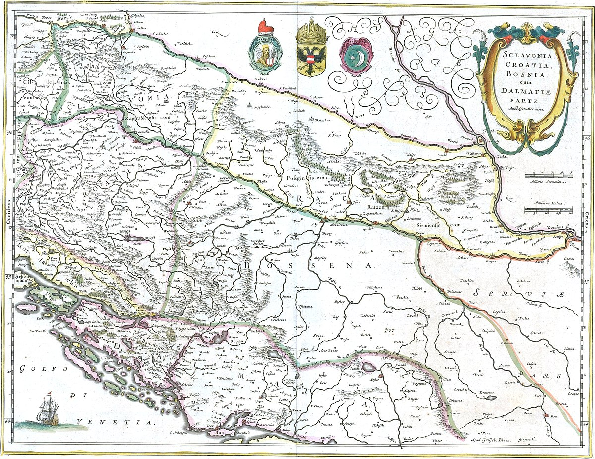 History of Bosnia and Herzegovina - Wikipedia on old map of europe 1914, old maps of austria hungary & towns, old yugoslavia serbia,