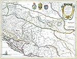 Sclavonia Kroatië Bosnië cum Dalmatiæ parte