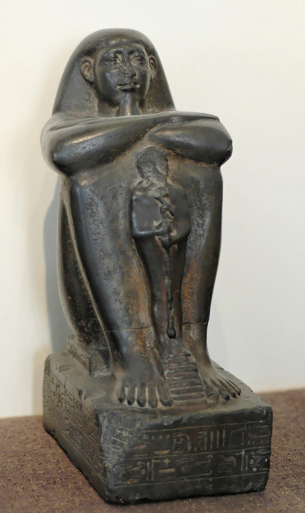 Block statue Pa-Akh-Ra CdM