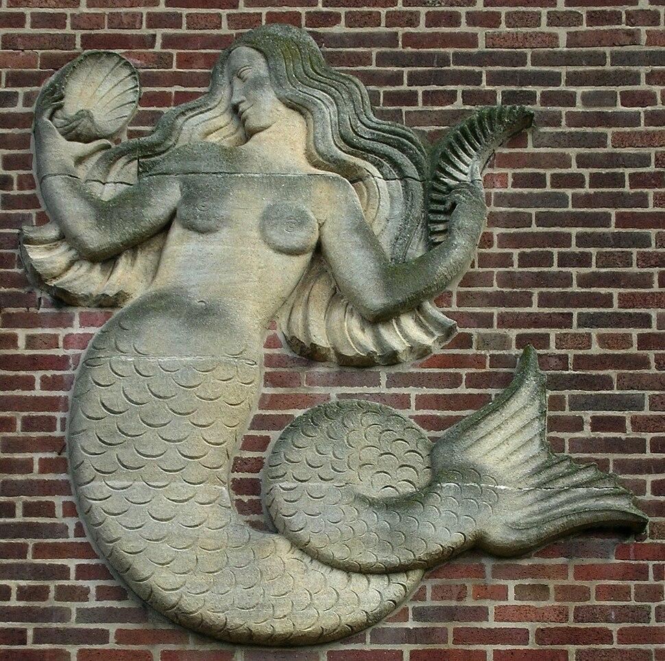 Bloye BUGS mermaid, stone