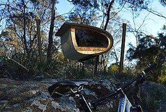 Derby, Tasmania - Image: Blue Derby Pods Ride