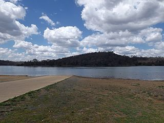 Cooby Dam Dam in Darling Downs, Queensland