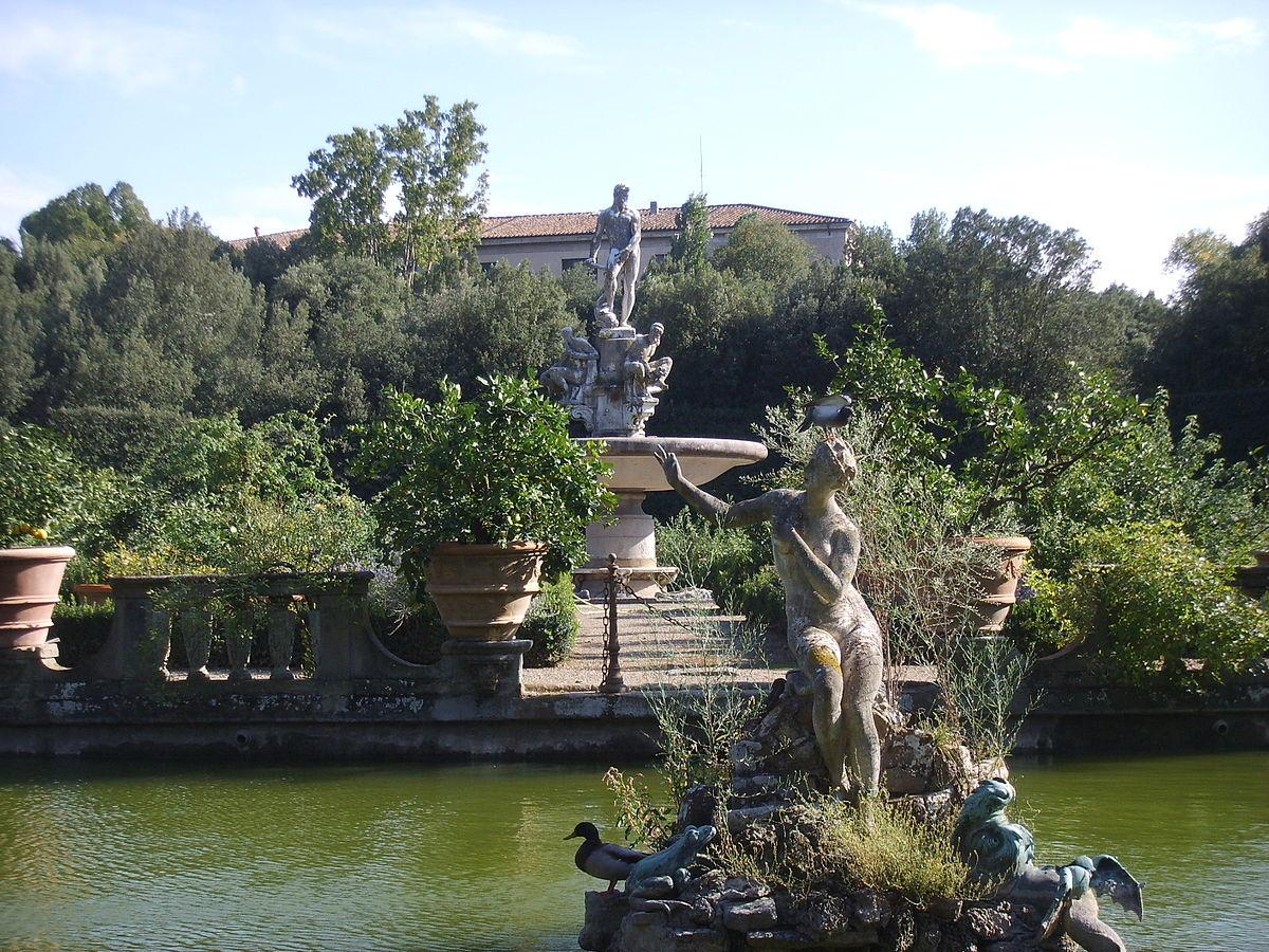 Fontana dell 39 oceano wikipedia - I giardini di boboli ...