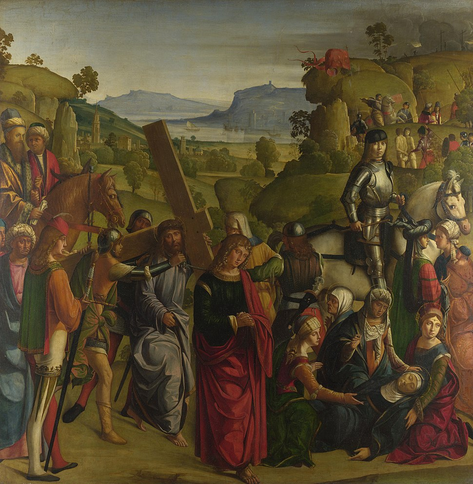 Boccaccio Boccaccino - Christ carrying the Cross (National Gallery, London)