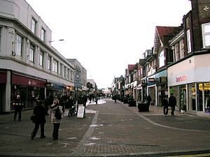 Bognor Regis - The shopping precinct