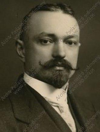 1935 Czechoslovak presidential election - Image: Bohumil Němec (1873 1966)